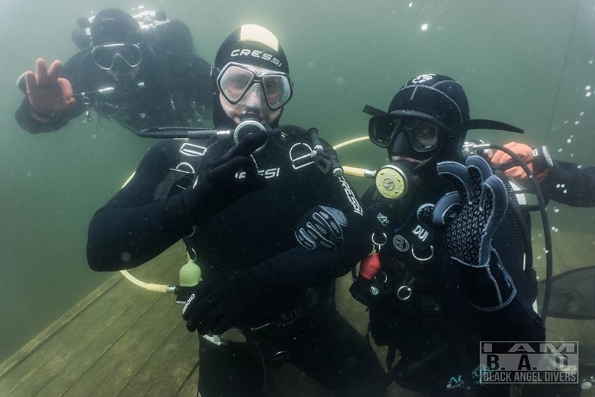 Intro nurkowe - pierwsze nurkowanie