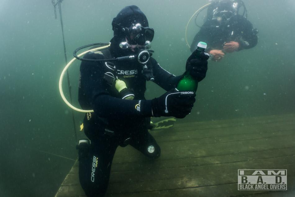 Wieczór kawalerski pod wodą