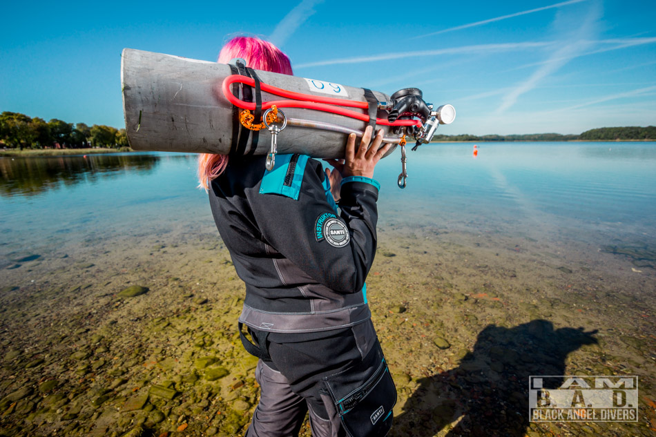 Dodatkowe źródło gazu - independent diving
