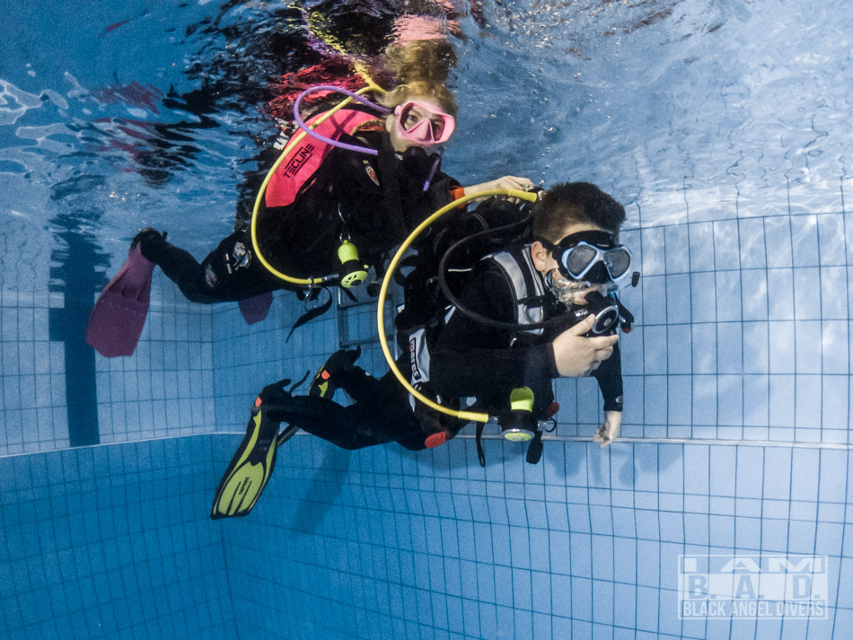 Junior Open Water Diver zajęcia basenowe