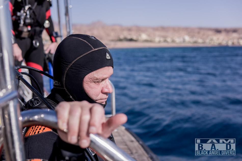 Skok do wody - kurs Boat Diving