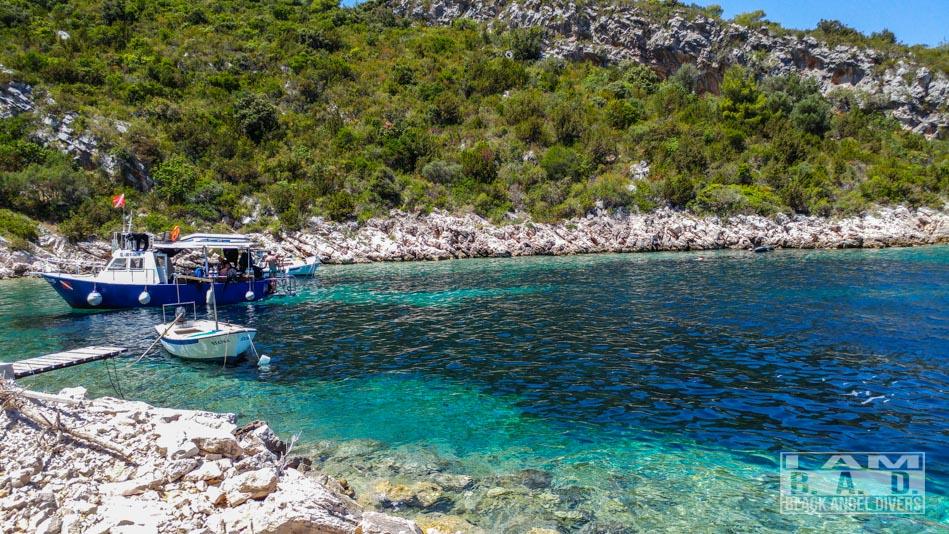Kurs nurkowania realizowany w Chorwacji na wyspie VIS