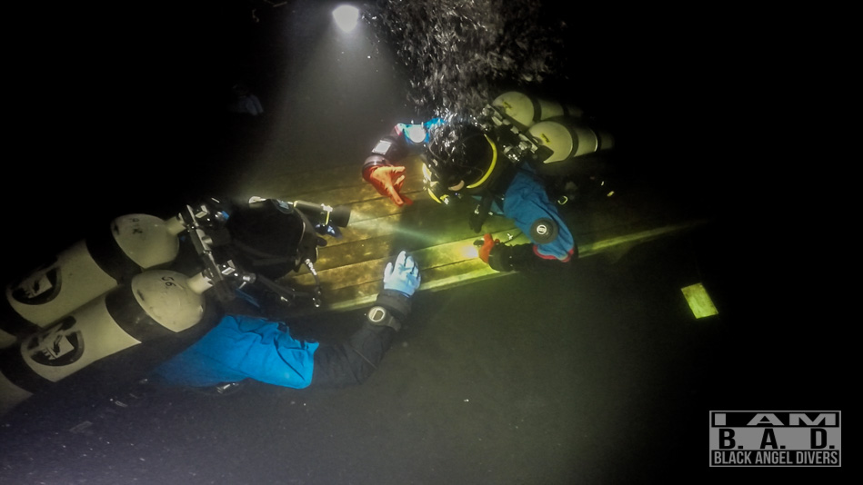Nurkowanie nocne podczas kursu Night Diver