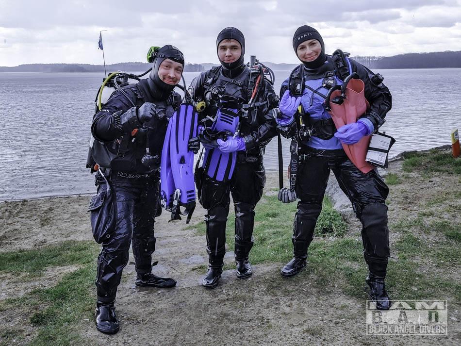 Podstawowy kurs nurkowania w suchym skafandrze
