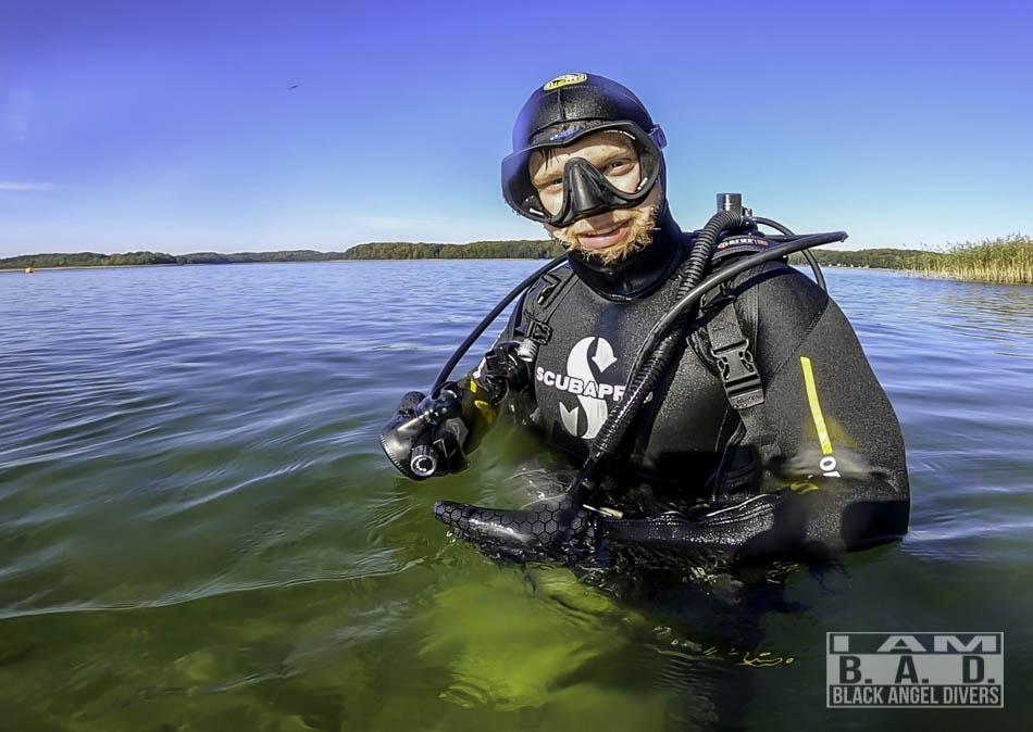 Kurs nurkowania w Szczecinie - zajęcia w wodach otwartych