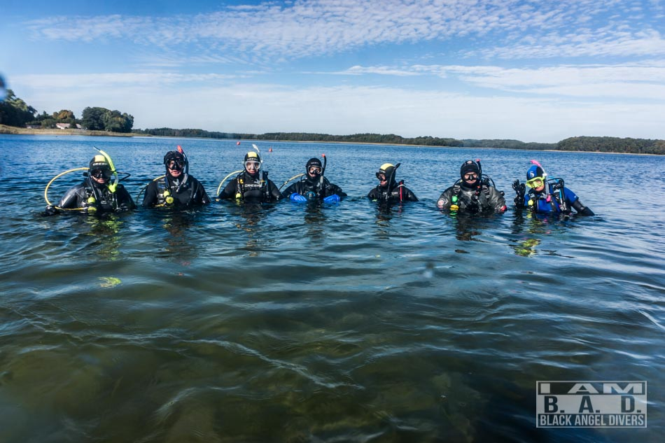 Kursy nurkowania Szczecin - grupa Open Water Diver