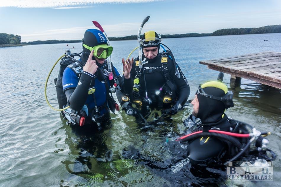 Kurs nurkowy Open Water Diver w Szczecinie