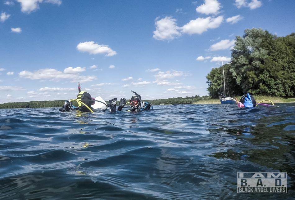 Kurs Open Water Diver - nurkowania w jeziorze Ińsko