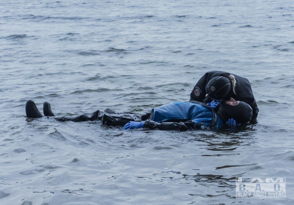 Ocena ABC nurka - kurs Rescue Diver