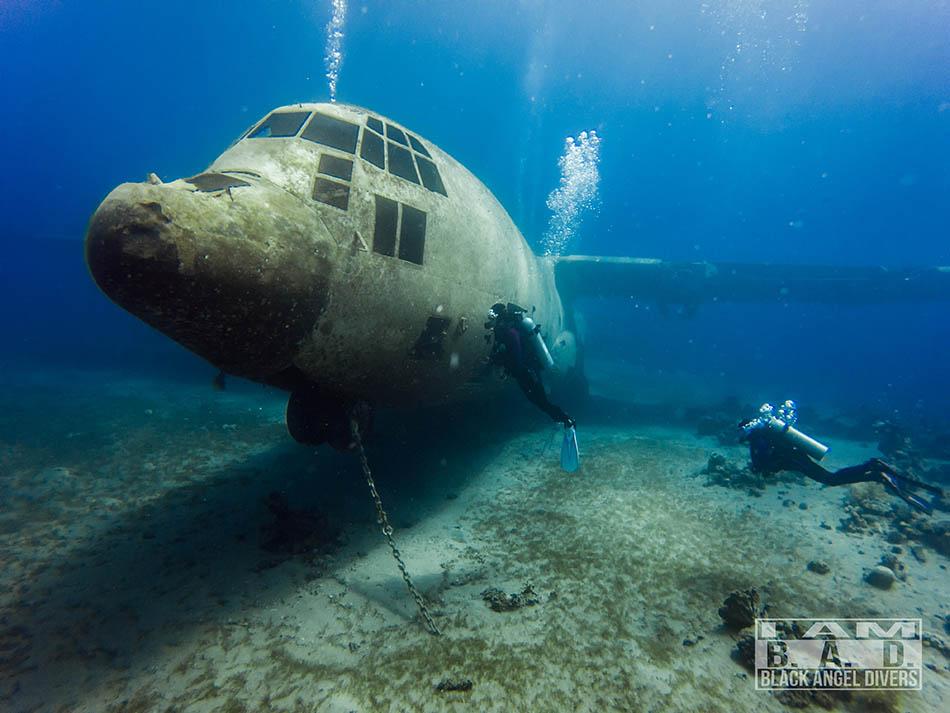 Hercules zatopiony wrak, Jordania