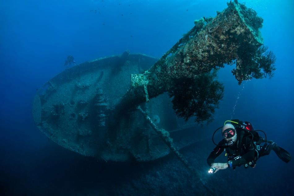Kurs wrakowy - wreck diving