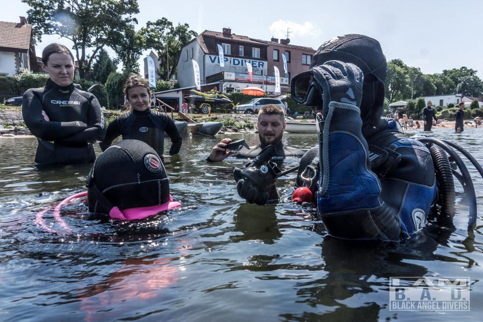 Podstawowy kurs nurkowania wody otwarte
