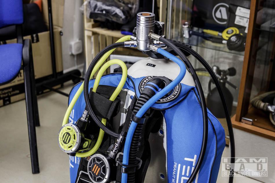 Automat do nurkowania Tecline R2 z obrotową głowicą