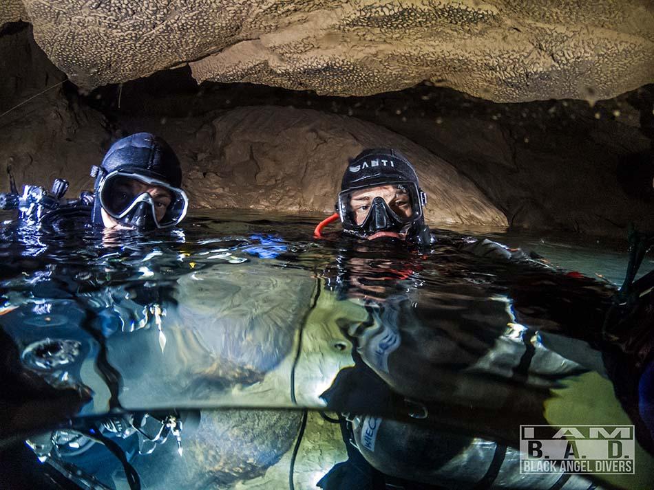 Jaskinia Saint Georges - suche części
