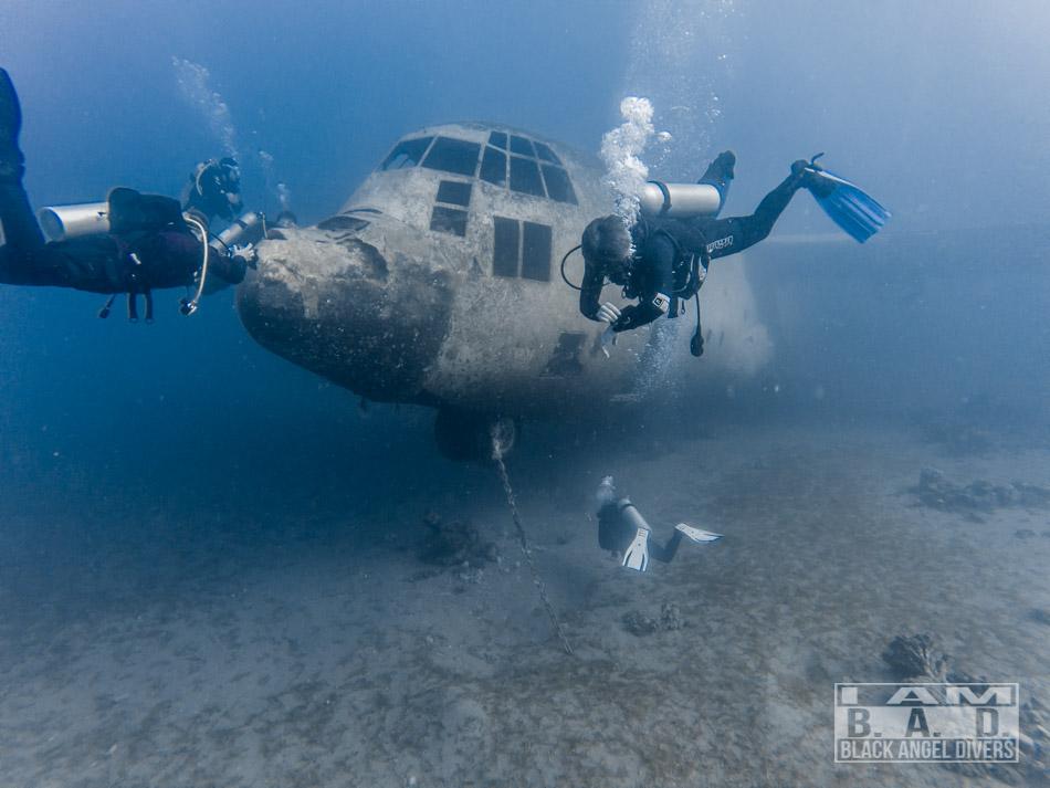 Wrak C-130 Hercules, Aqaba, Jordania