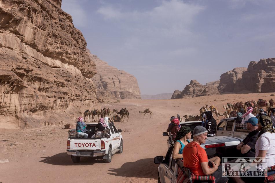 Pustynia Wadi-Rum