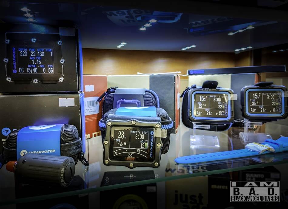 Komputery Shearwater w naszym sklepie