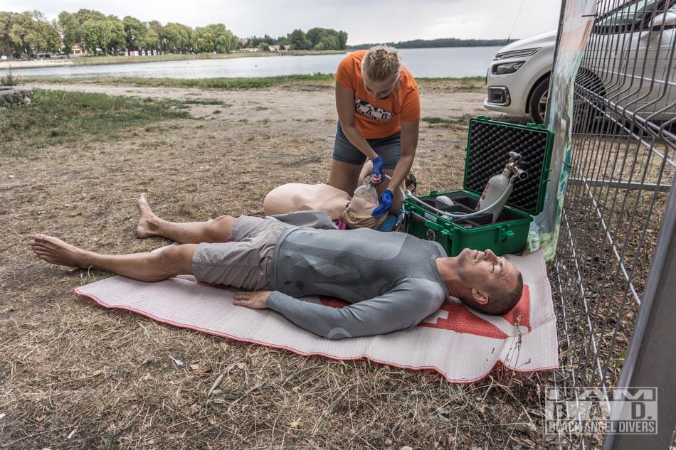 MTV-100 CPR DAN Advance Oxygen First Aid