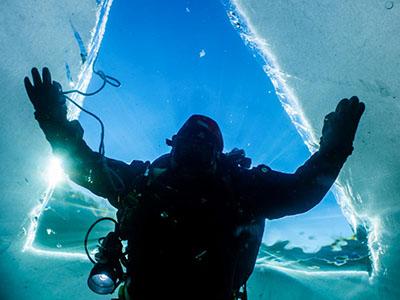 Ice Diver Nurkowanie Podlodowe