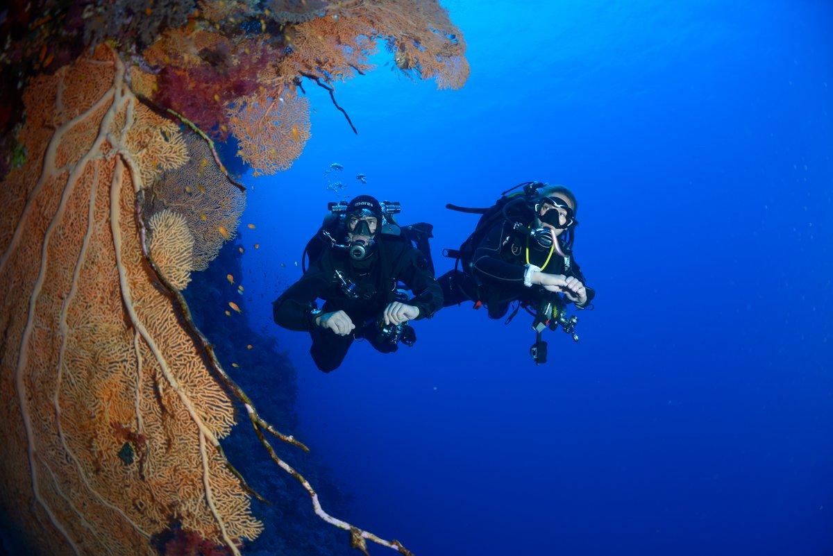 Kurs deep diver - nurkowanie głębokie