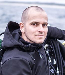 Tomek instruktor nurkowania