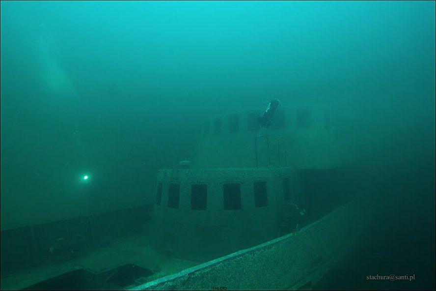 MW Bryza K18 zatopiony na Helu