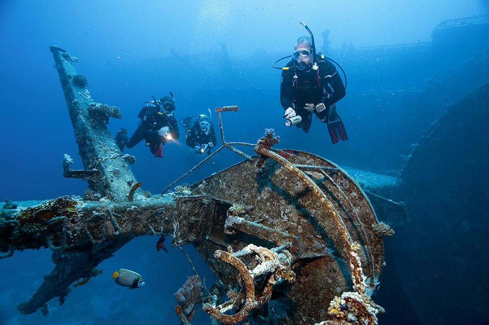 Nurkowanie wrakowe - Wreck Diving