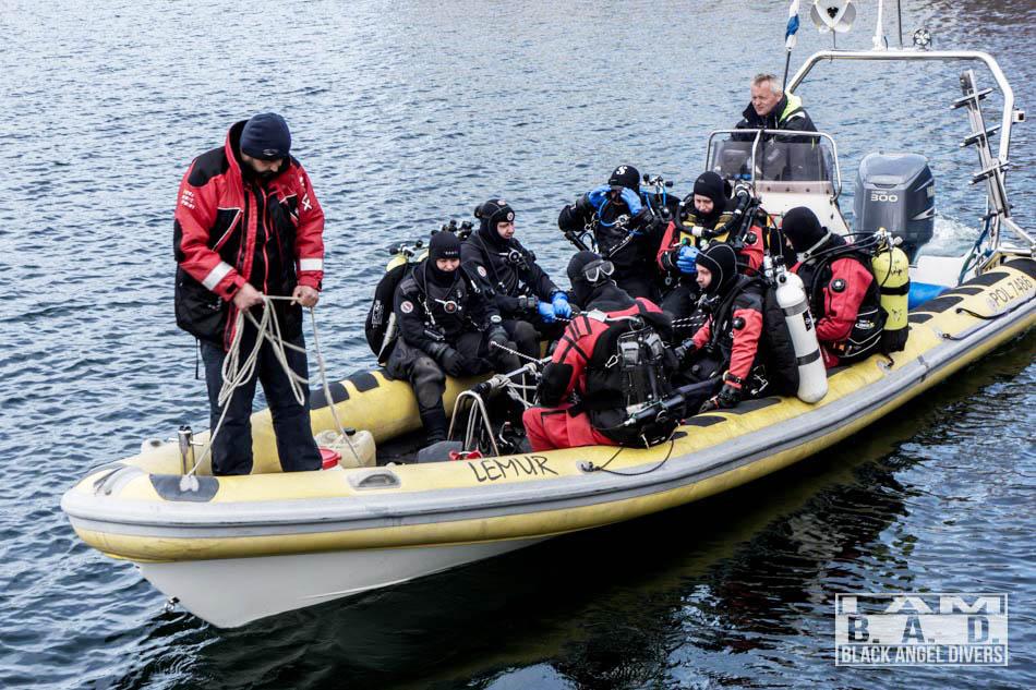 Boat Dicing nurkowanie z łodzi