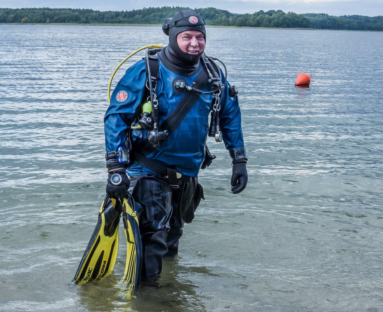 Open Water Diver + suchy skafander